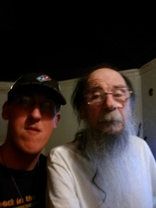 This is a picture of Charles and his dad on one of Charles trips back to Kingman AZ from Texas last year.